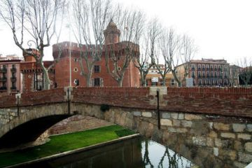 Photo du centre ville de Perpignan