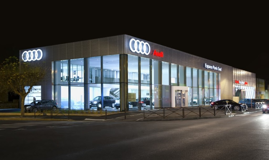 Audi concession Viry-Chatillon Priod