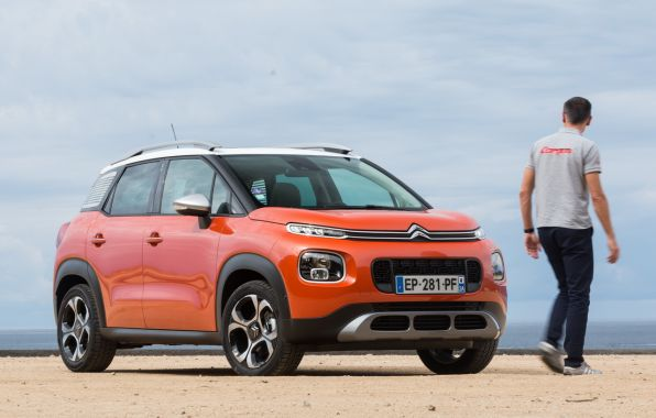 citroen c3 aircross orange