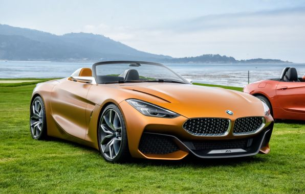 BMW Concept Z4 Pebble Beach 2017 3/4 avant