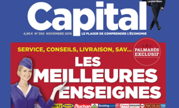 Capture écran : une du magazine Capital