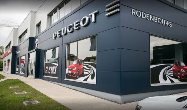 Concession Peugeot Luxembourg CAR Avenue