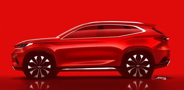 Chery salon SUV Francfort constructeur chinois