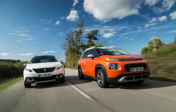 citroen c3 aircross vs peugeot 2008