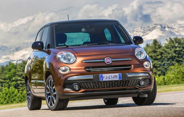 fiat 500L 2017 restylage