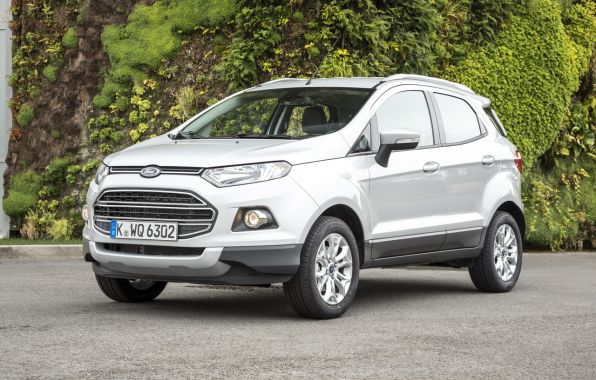 ford ecosport gris avant