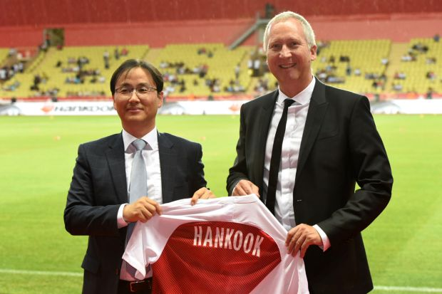 AS Monaco Hankook football pneumatique
