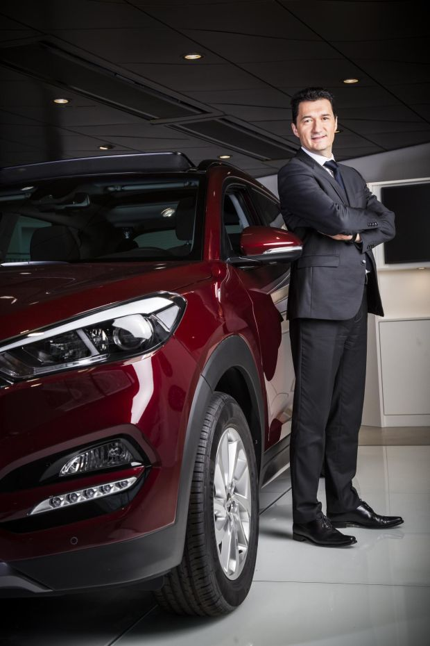 Dominique Gobin, directeur Fleet de Hyundai France