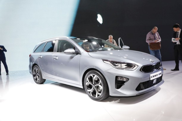 Kia Ceed SW (2018) en direct du salon de Genève !