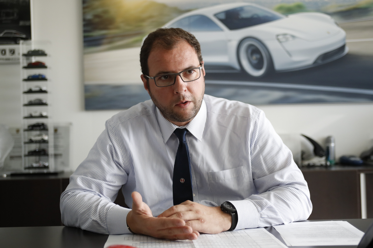 marc ouayoun interview chez Porsche
