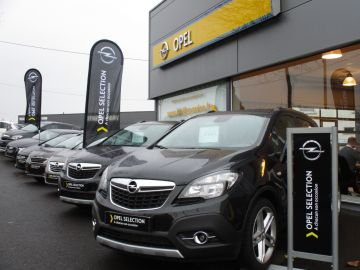Le label Opel Sélection arbore les couleurs des standards Blackbox.