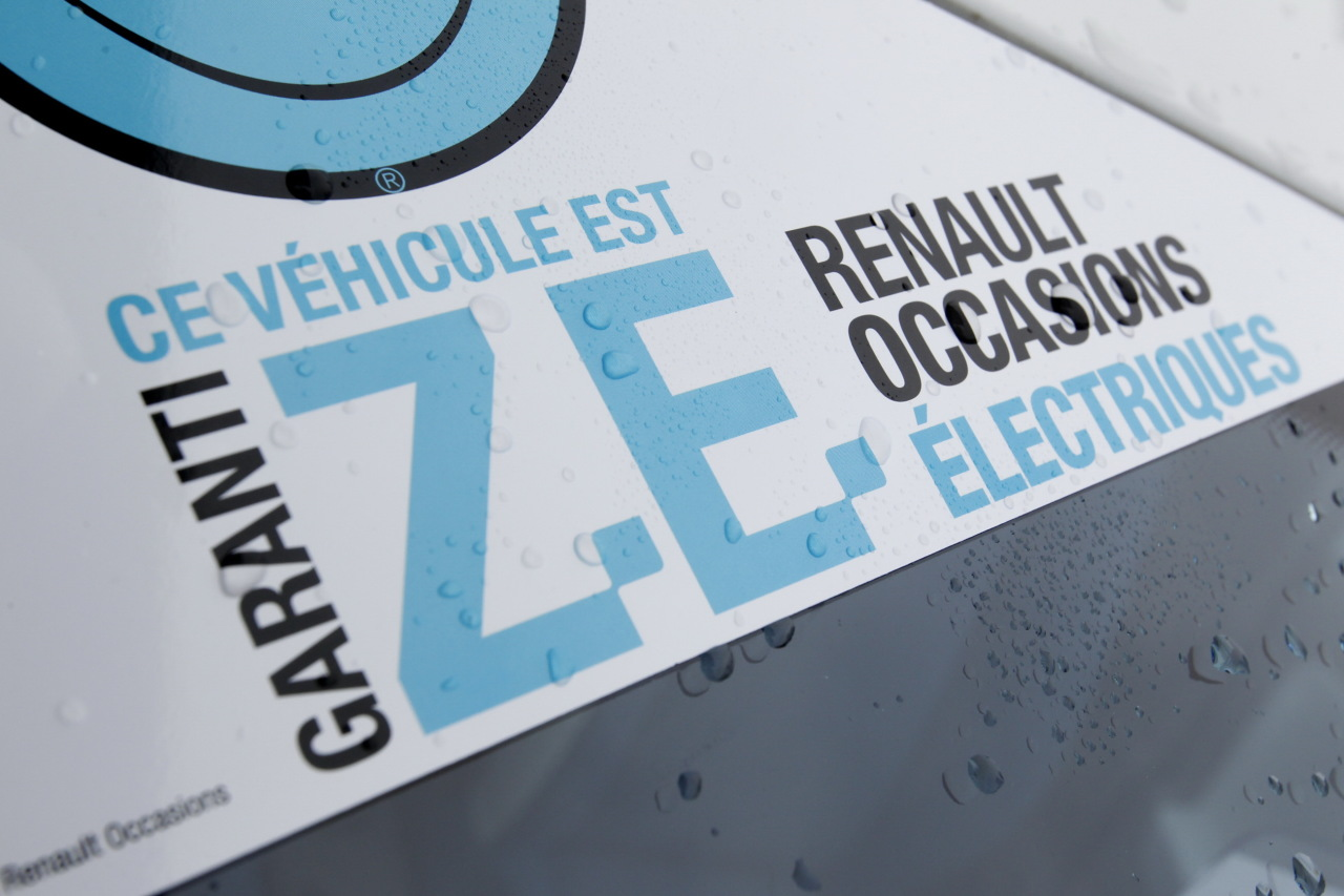 Zoé renault Occasion