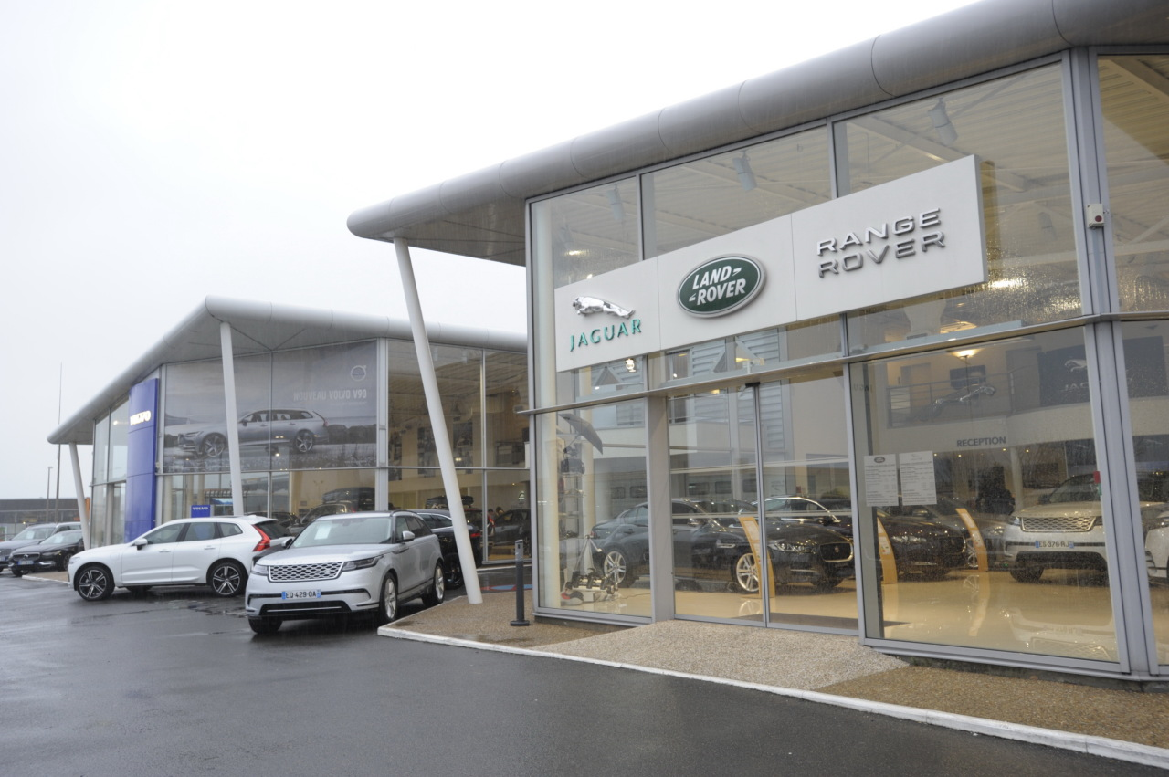 concession Volvo Jaguar Land Rover Tours Duffort Etoile du Maine