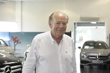 Jean-Claude Bernard reste président national des groupements de distributeurs Mercedes-Benz