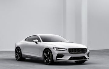 La Polestar 1, coupé de 600 chevaux sera mis en production en 2019 en Chine.