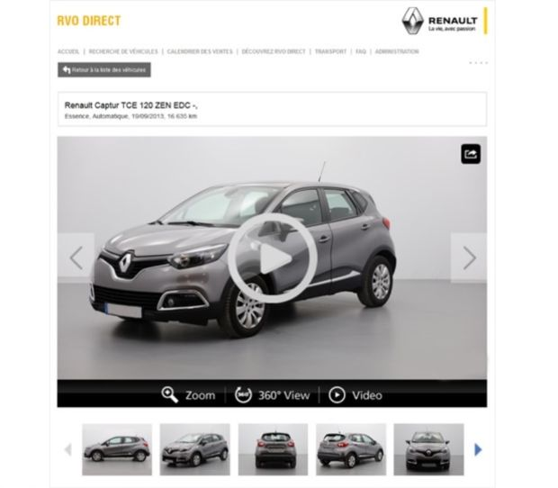 AutosOnShow RVO-Direct Renault occasion