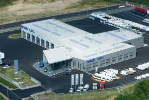 Un des deux sites nantais (Rezé) de la SDVI, filiale de distribution d'Iveco France