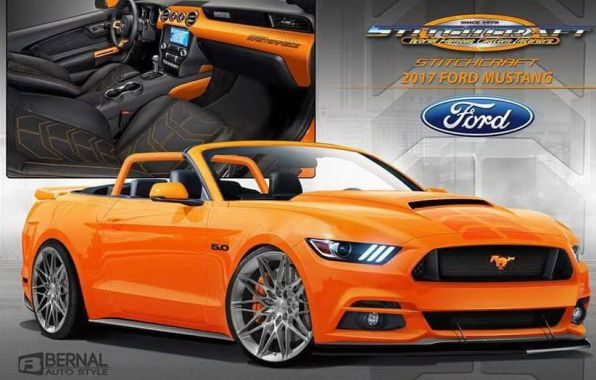 ford mustang sema show 2016