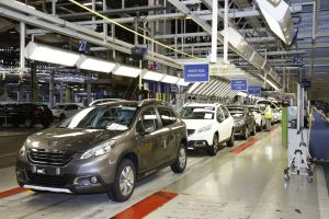Production du Peugeot 2008, usine de Mulhouse