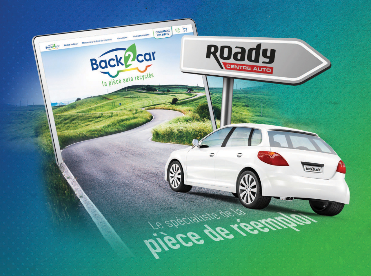roady et back2Car allaince auto group